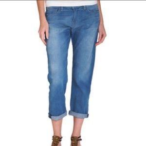 Current/Elliot boyfriend jeans in sunshadow